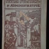 FIGURI POLITICE SI ADMINISTRATIVE DIN EPOCA CONSOLIDARII, 1924 - Carte de colectie