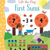 LIFT THE FLAP First Sums - Usborne book - Carte educativa
