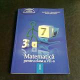 MATEMATICA PENTRU CLASA A VII-A - IOAN BALICA SEMESTRUL1