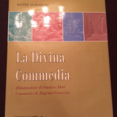 LA DIVINA COMMEDIA-DANTE ALIGHIERI-1 - Carte in italiana