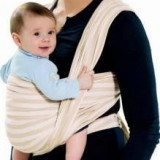 Port Bebe Baby Amazonas Symbol Carry Sling Sahara 450 cm - Marsupiu bebelusi