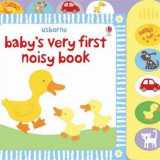 Babys very first noisy book - Usborne book - Carte educativa