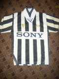 Tricou al echipei Juventus Torino , Jucator Del Piero nr 10 , masura S, Bej