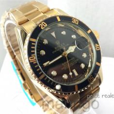 Ceas barbati ROLEX Submariner Gold - Ceas barbatesc Rolex, Quartz, Data