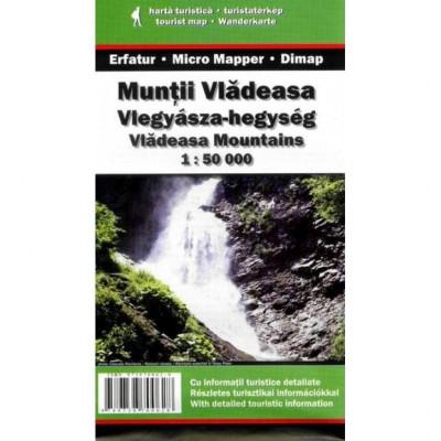 Dimap Harta Turistica Muntii Vlădeasa foto