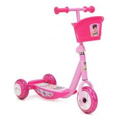 Trotineta Copii Moni ZS-L007C Roz - Tricicleta copii