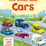 Cars - First sticker book - Usborne book - Carte educativa