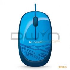 MOUSE Logitech 'M105' Optical Mouse, USB, blue '910-003105'