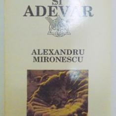 CERTITUDINE SI ADEVAR de ALEXANDRU MIRONESCU , 1992