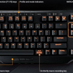 Tastatura Gaming Asus Mechanical Strix Tactic Pro Black