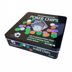 Set Poker profesional 100 jetoane