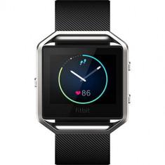 Smartwatch Blaze Fitness Wireless Marimea L Negru - Bratara fitness Fitbit