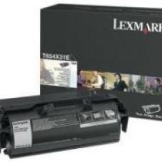 LEXMARK T654X31E BLACK TONER - Cartus imprimanta