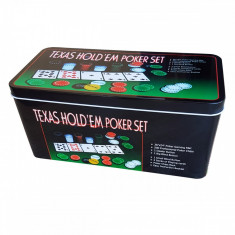 Set Poker profesional Texas 200 jetoane - Carti poker
