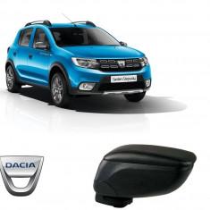 Cotiera Reglabila Dacia Sandero/Sandero Stepway 2008-2015 Din Piele Eco Premium - Ornamente interioare auto