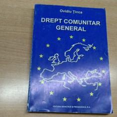 DREPT COMUNITAR GENERAL-OVIDIU TINCA