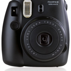 Fujifilm Instax Mini 8 (negru) - Aparat Foto compact Fujifilm
