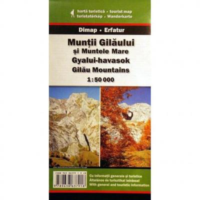 Dimap Harta Turistica Muntii Gilaului si Muntele Mare foto