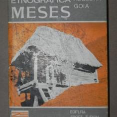 ZONA ETNOGRAFICA MESES - IOAN AUGUSTIN GOIA BUCURESTI 1982 - Carte Fabule