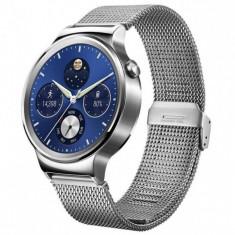 Huawei Watch W1, otel inoxidabil, bratara plasa metalica (Mesh Strap) - Smartwatch