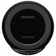 Accesoriu telefon mobil SAMSUNG Stand de birou Wireless Charging Pad pentru Samsung Galaxy S7 (G930), Galaxy S7 Edge (G935), Black