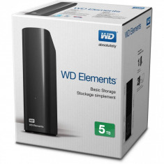 HDD extern Western Digital WD, 5TB, Elements, 3.5
