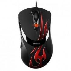 Mouse Sharkoon FireGlider Optical gamer roșu