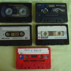 Lot 5 Casete Audio TDK, MEMOREX, MAXELL, BASF si AGFA - 3