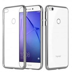 Husa Huawei P9 Lite 2017 - Gel Electroplating Silver - Husa Telefon