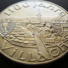 MONEDA ARGINT 100 Schilling - AUSTRIA, anul 1978 *cjaCOD 16 UNC, Europa