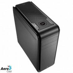 Carcasa Aerocool ATX DS 200 BLACK, USB 3.0, fara sursa - Carcasa PC