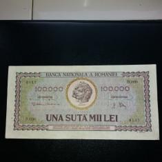 100000lei 1947 - Bancnota romaneasca