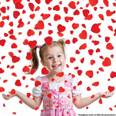 Tun confetti inimioare 60 cm