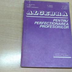 ALGEBRA PENTRU PERFECTIONAREA PROFESORILOR-M.BECHEANU -C.NITA SI ALTII - Carte Matematica