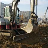 Inchiriere miniexcavator