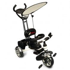 Tricicleta Pentru Copii MyKids Luxury KR01 White - Tricicleta copii