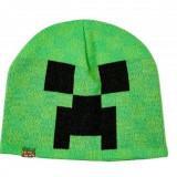 Minecraft Caciula Creeper Green S/M
