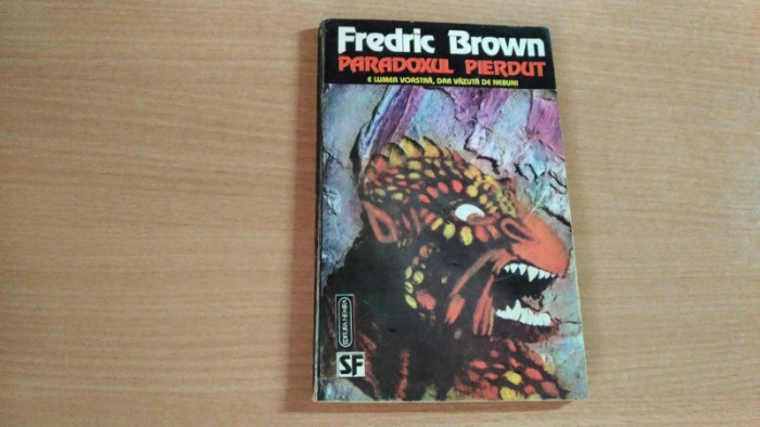 PARADOXUL PIERDUT-FREDRIC BROWN foto mare