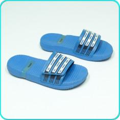 DE FIRMA → Slapi copii, confortabili, ergonomici, ADIDAS → baieti | nr. 33 - Papuci copii Adidas, Culoare: Albastru