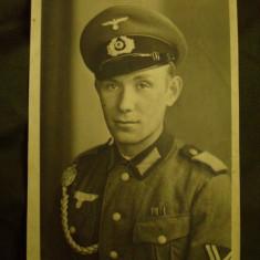 Fotografie militara germana, ofiter de WH al 3-lea Reich/nazist/nazista/colectie - Fotografie veche