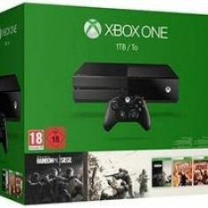 Consolă Xbox One Microsoft 1TB `Tom Clancy`s Rainbow Six Siege