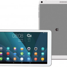 Tableta Huawei Mediapad T1 10, Procesor Quad-Core 1.2GHz, IPS LCD Capacitive touchscreen 9.6, 1GB RAM, 8GB, 5MP, Wi-Fi, Android (Alb/Argintiu)