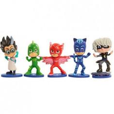 Set 5 figurine Eroi in pijama - Figurina Desene animate