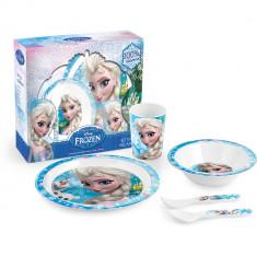 Set pentru masa melamina 5 piese Frozen Lulabi 9203100