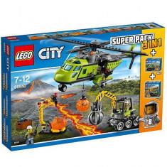LEGO® City Vulcan Super Pack 3-in-1 66540 - LEGO Cuburi