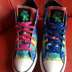 Converse All Star originali, high top, nr.39-24, 5 cm. - Tenisi dama Converse, Culoare: Multicolor, Textil
