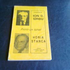 PRINTR-UN TUNEL. CORESPONDENTA - ION D. SIRBU, HORIA STANCA - Biografie