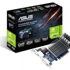 Placa video Asus nVidia GeForce GT 710 2GB DDR3 64bit low profile (710-2-SL) - Placa video PC