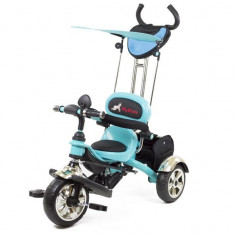 Tricicleta Pentru Copii MyKids Luxury KR01 Albastru - Tricicleta copii