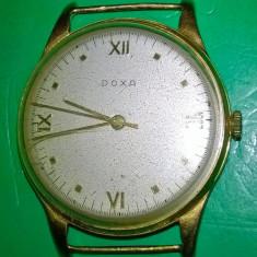 Ceas aur Doxa - Ceas dama Doxa, Mecanic-Manual